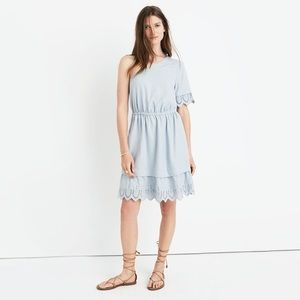 Plus-size Madewell One Shoulder Summertime Dress